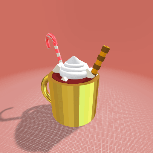 The perfect cup of hot choclate