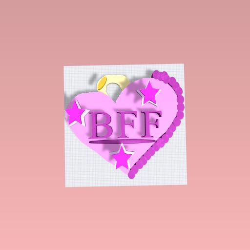B.F.F Chocolate Box With Handle.