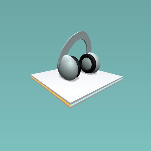 Headphones for a teacher