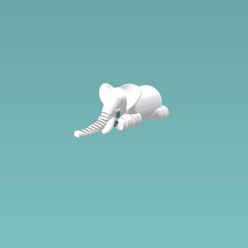 Sad elephant
