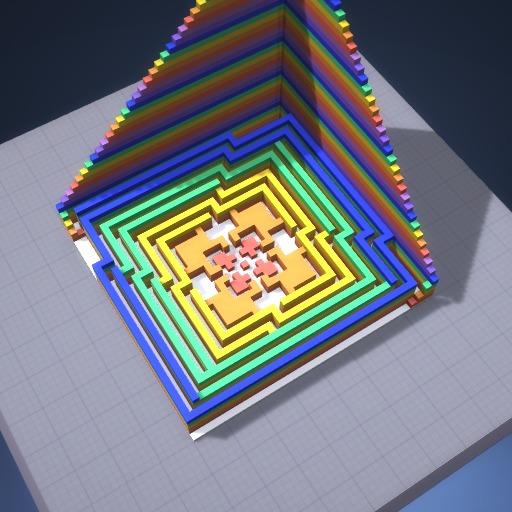 Rainbow maze