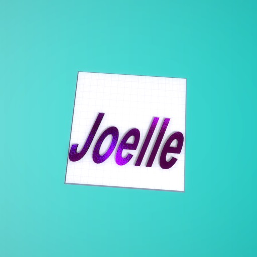 Joelle is my real name