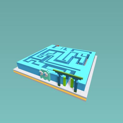 3D PRINTED MAZE
