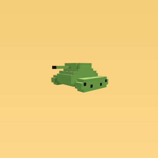 3D Sherman tank