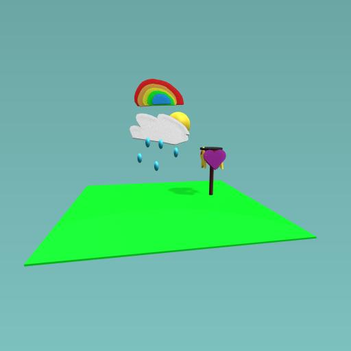 Shape unbrella