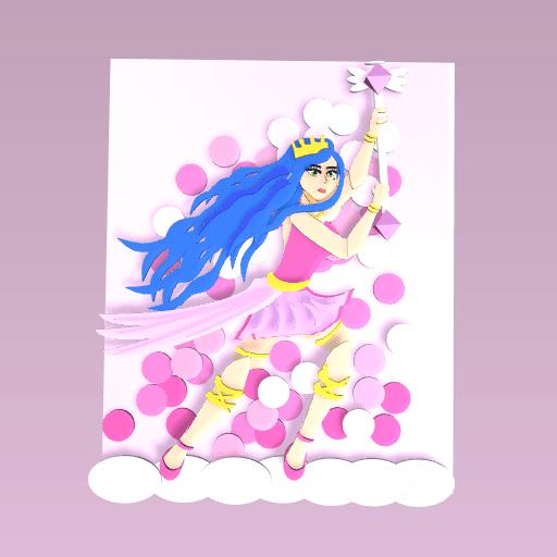 The pretty Princess drawing