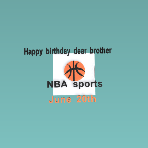 Happy bithday dear brother