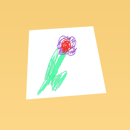im great at drawing flowers.. xd
