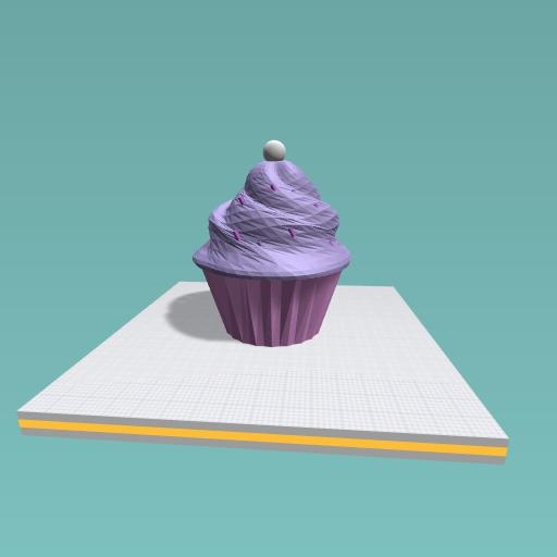 My new cupcake swirl