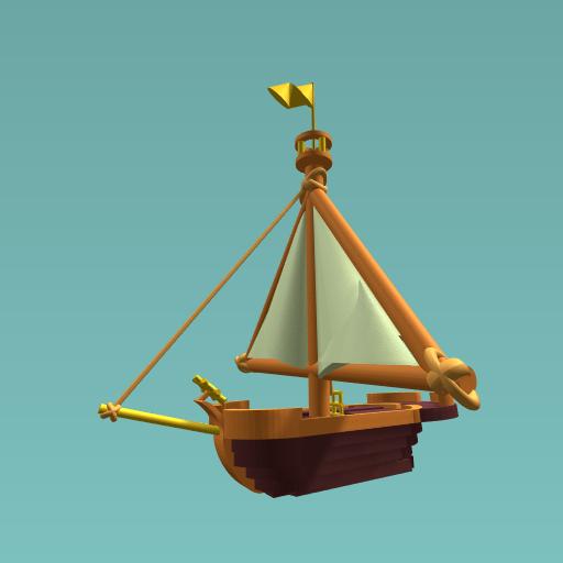 Gold Flag Ship!