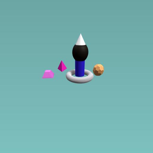 A Small Cone Lamp