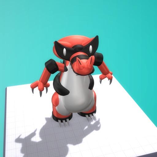 3D Krookodile