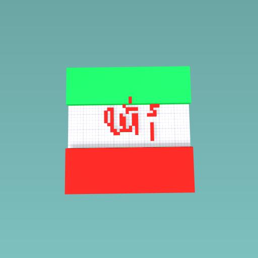Iran flag!