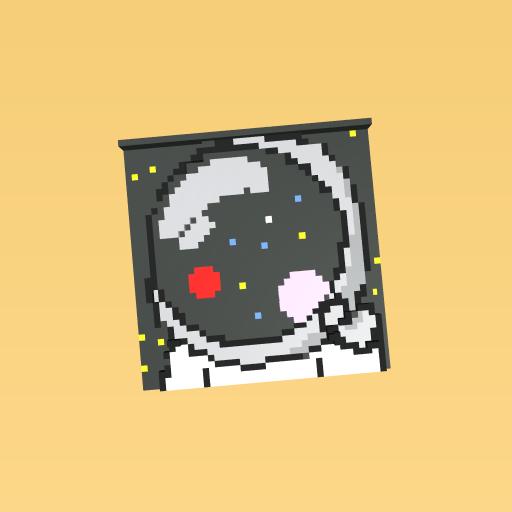 astronut reflection
