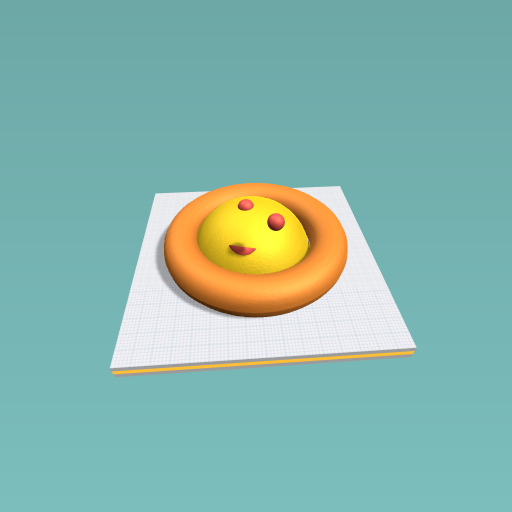 smily pizza