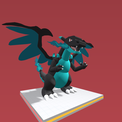 (Pokémon) Charizard mega evolution X