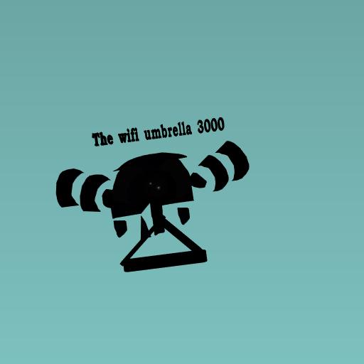 The wifi umbrella 3000