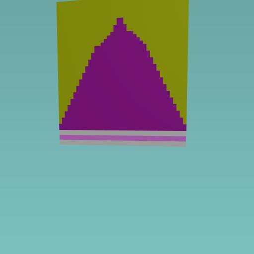 Pink piramid