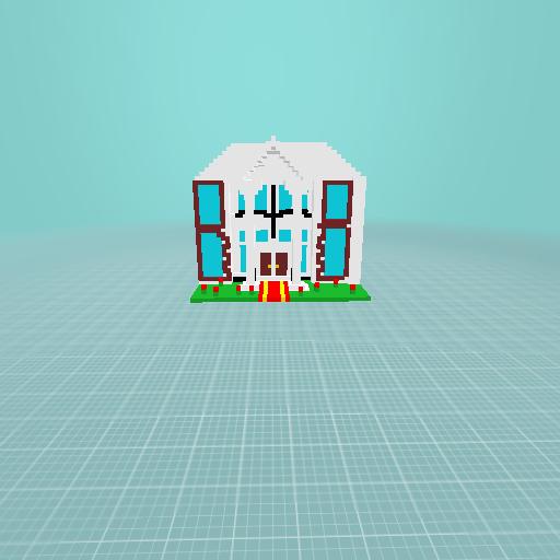 white house (fancy)