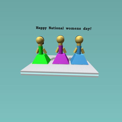 Happy National womens Day!