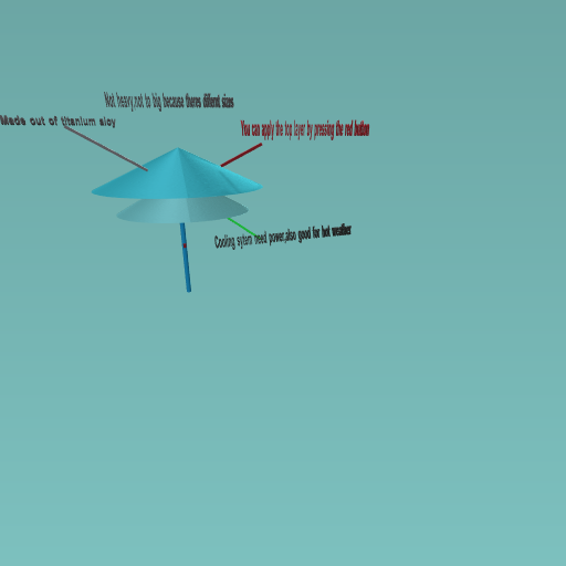tri umbrella
