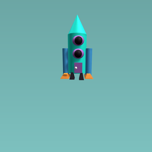 cute rocket