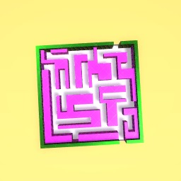 My impossible maze!