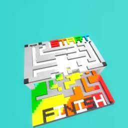 The rainbow maze