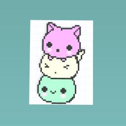 Three Cat Mochi