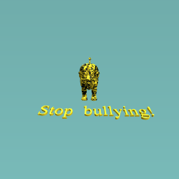 The lion who stops the bullies!
