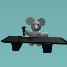 Rat makes table