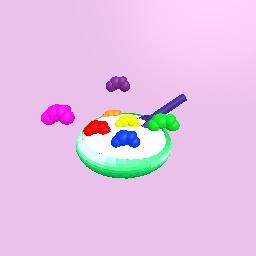 Rainbow cloud-o's