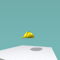 A protective hard hat