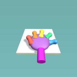 Ecstended hand