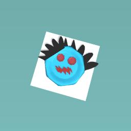 The creepy vampire