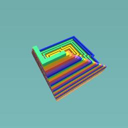 Rainbow hole