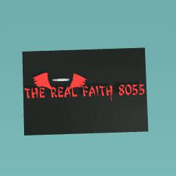 The real faith 8055 logos