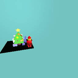 Christmas tree with ordaments