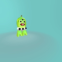 Seven eyed slime beast