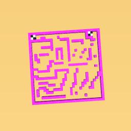 Pink maze