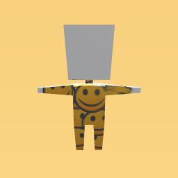 smily face jumpsuit