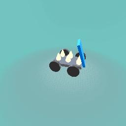 Body powered car