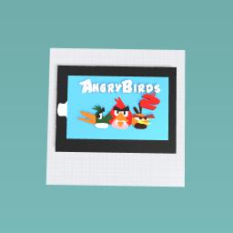 I GOT ANGRY BIRDS 2 IN MY IPAD!