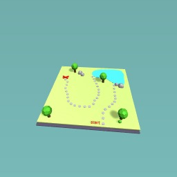 3D treasure map