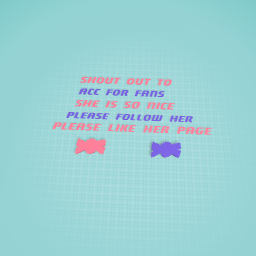 for acc for fans!!!!