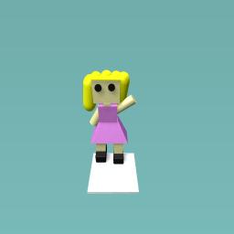 Little girl ( looks bad...)