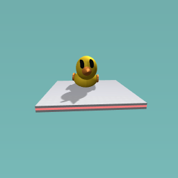 Rubber duck from monolopy