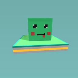Kawaii Minecraft Slime!