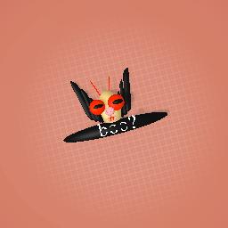 my dangerously cute  creapy bat