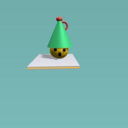 surprised holiday elf